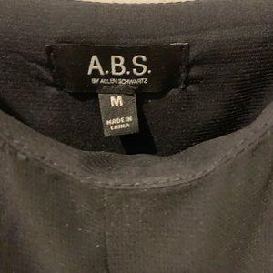 Allen B. By Allen Schwartz Tops - A.B.S. Black Chiffon Tank